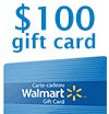 Free contest : A $100 Walmart gift card